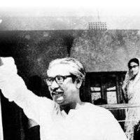 1970 বঙ্গবন্ধু শেখ মুজিবুর রহমান নৌকা প্রতীক নিয়ে নির্বাচন প্রচার অবিযানে নামেন